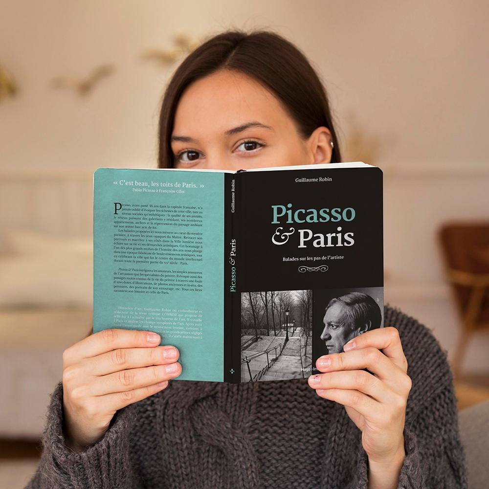 Picasso et Paris balades sur les pas de l'artiste hugo image hugo publishing